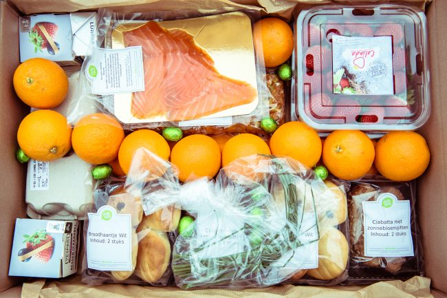 hello fresh paas brunch box MAMA to the max maaltijdbox hellofresh