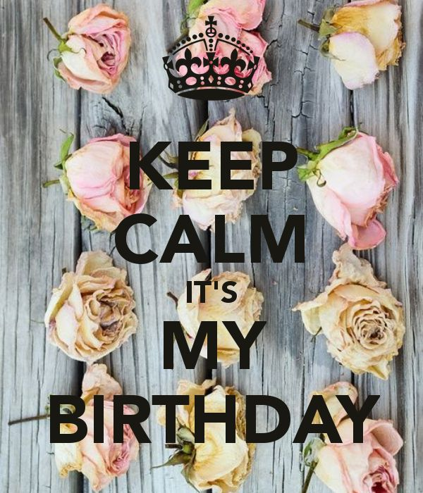 keep calm birthday