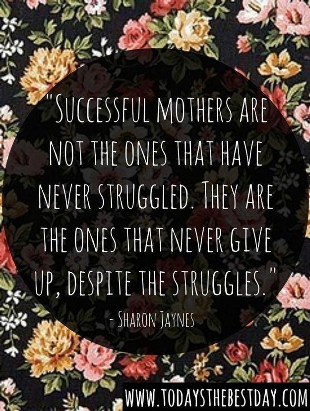 mom struggle