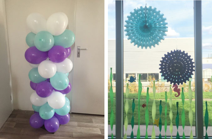 Verjaardagdecoratie