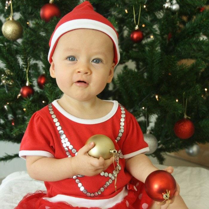 Baby kerstmis
