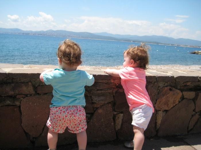 Anna en Julia in Zuid-Frankrijk