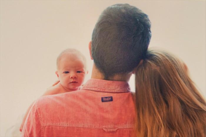 Sem met papa en mama (eigendom BoeTie buikjes & babys)