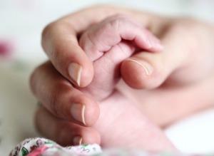 baby, hand