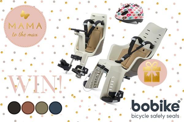 BoBike-maxi-+-Mini-+-Helm winactie kinderzitje veilig MAMA to the max