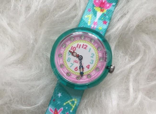 Flikflak, klok, horloge, kind, leren, tijd, blog, MAMA to the max