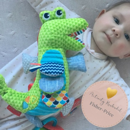 fisher-price baby peuter speelgoed speeltje activity krokodil fisher-price speelgoed baby MAMA to the max