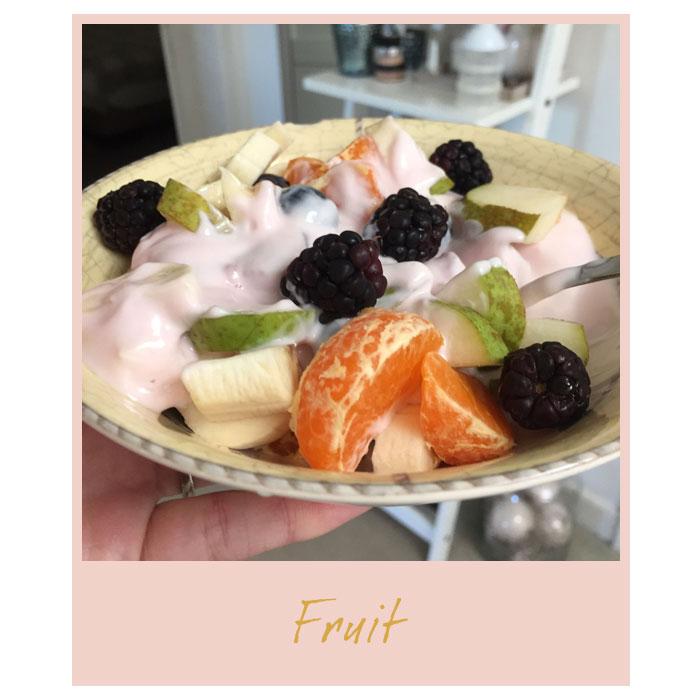Maandag-fruit