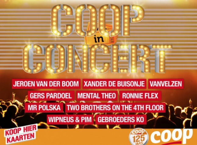 coop in concert MAMA to the max