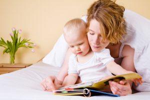 mamatothemax; voorlezen; baby;