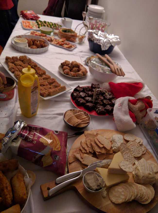 Foto 3 buffet, eigen foto
