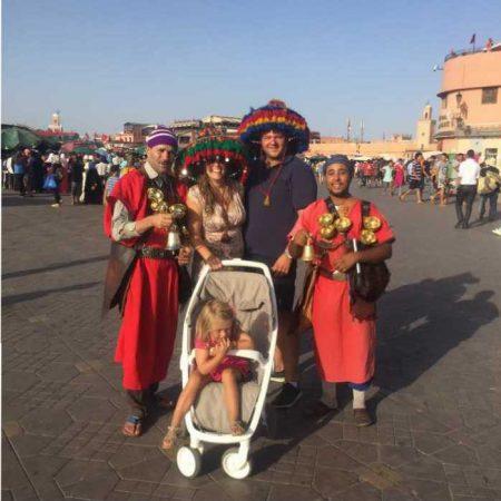 bekendste plein marokko djemaa el fan marrakech marokko MAMA to the max