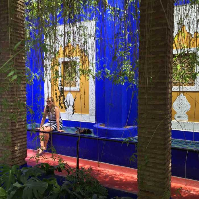 majorelle tuinen marrakech MAMA to the max