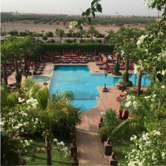 sofitel hotel marokko marrakech MAMA to the max