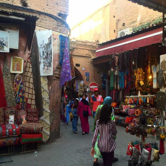 stuks marrakech vakantie marokko MAMA to the max