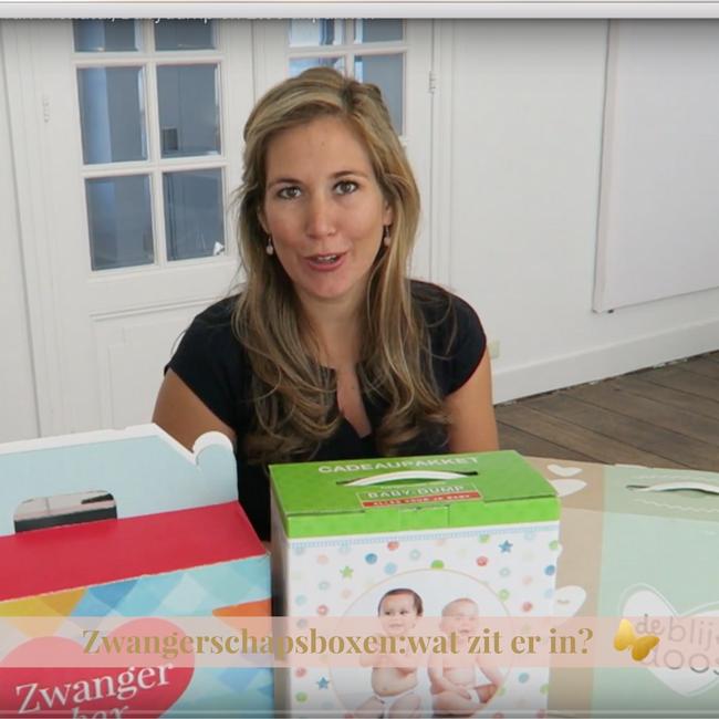 gratis zwangerschapsboxen zwanger zwangerschap etos prenataal babydump blije doos wat zit er in unboxing MAMA to the max