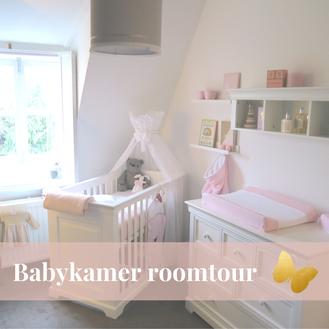 ababykamer baby zwanger roomtour kinderkamer vlog video roze koeka baby's only puckababy mama to the max