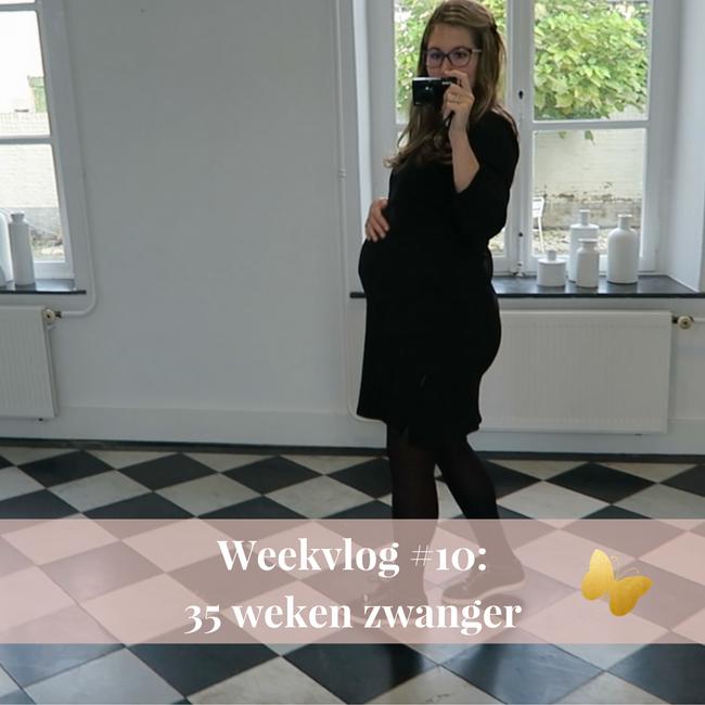weekvlog 10 35 weken zwanger MAMA to the max