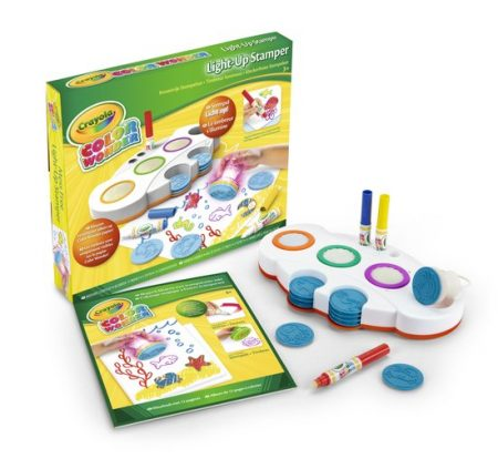 Crayola stempelset knutselen met kinderen