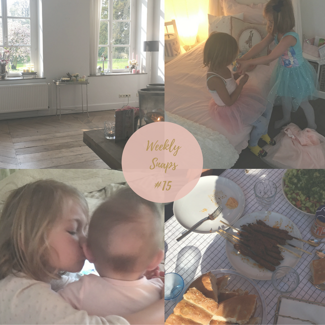 weekly snaps #15: eerste fruithapje, eerste playdate en eerste warme dag - MAMA to the max