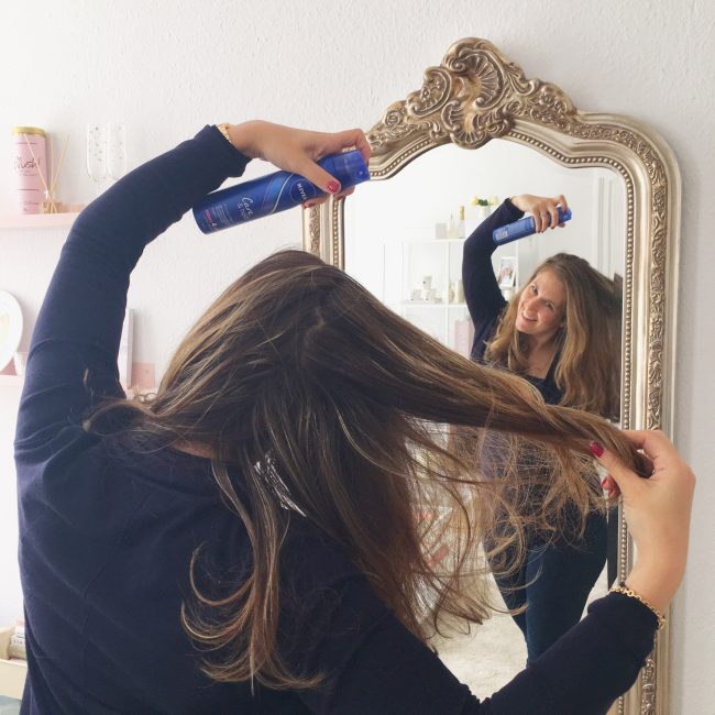 nivea hairstyling hairspray haren verzorging haarverzorging tips MAMA to the max