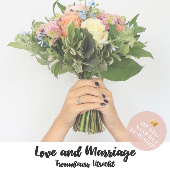 OP WEG NAAR HET JA-WOORD TROUWEN BRUILOFT huwelijk trouwbeurs love and mariale beurs MAMA to the max