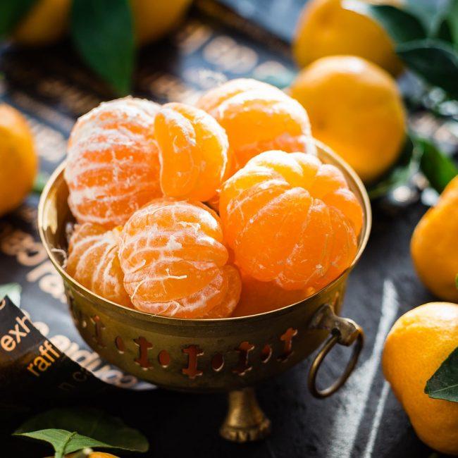 mandarijnen fruit vitamine gezond
