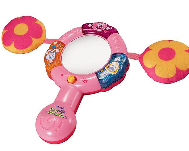 VTech baby spiegeltje roze eerste jaar cadeau