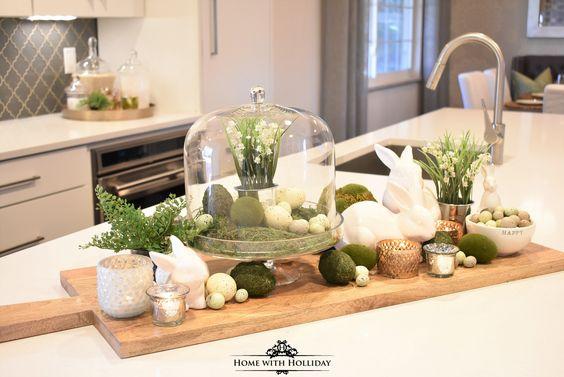 decoratie lente voorjaar keuken