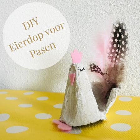 DIY Pasen eierdop