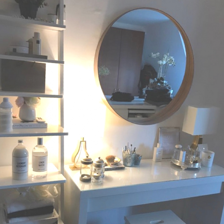 6 dingen die ik iedere avond doe make-up tafel