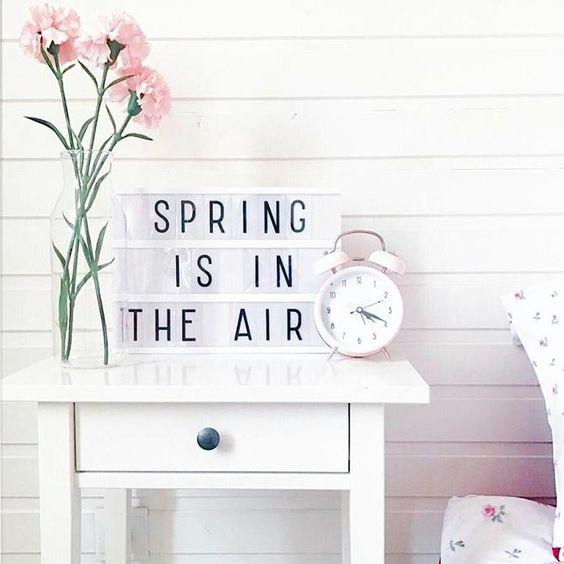 voorjaarsinspiratie lente