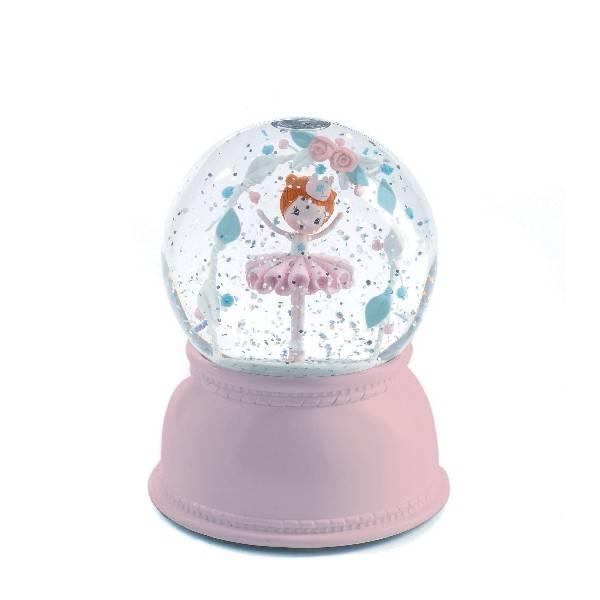 verjaardag Maxime sneeuwbol nachtlampje ballerina