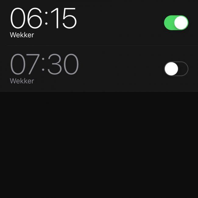 Waarom vroeg opstaan zo leuk is wekker