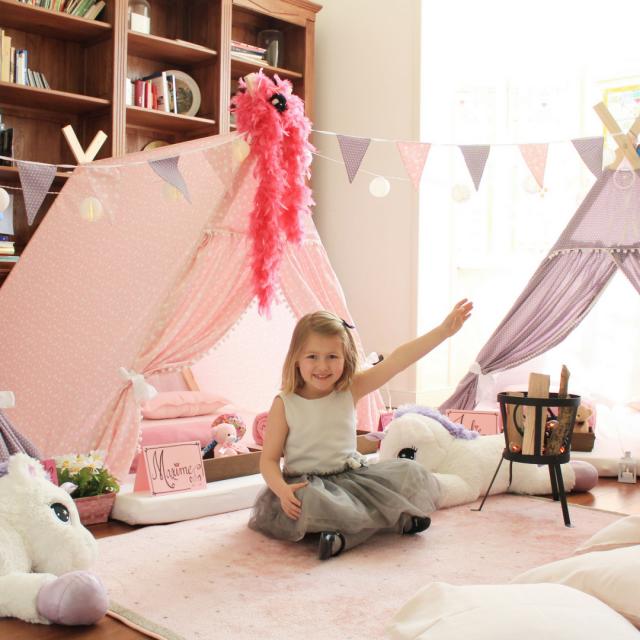 Maxime's vijfde verjaardag unicornfeest