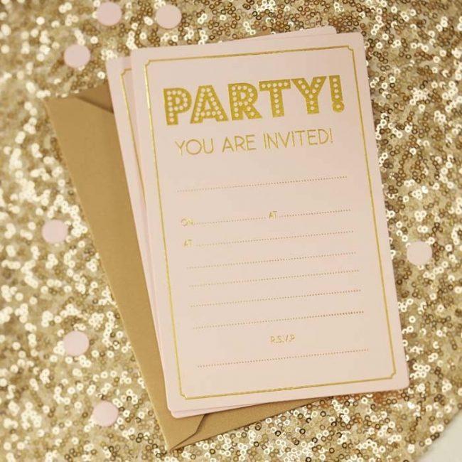 Mijn april goals uitnodiging verjaardag