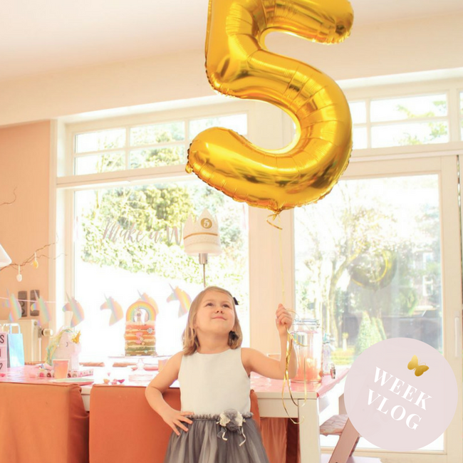 weekvlog mamavlog mamablog verjaardagsfeestje MAMA to the max