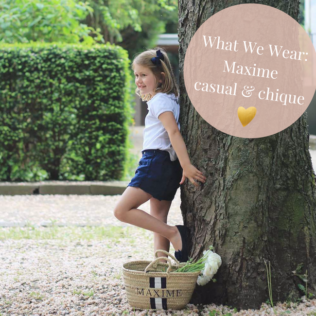 What We Wear Maxime Eat Play Love Casual & Chique