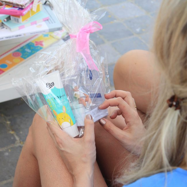 Babyshower organiseren Partydeco cadeautjes