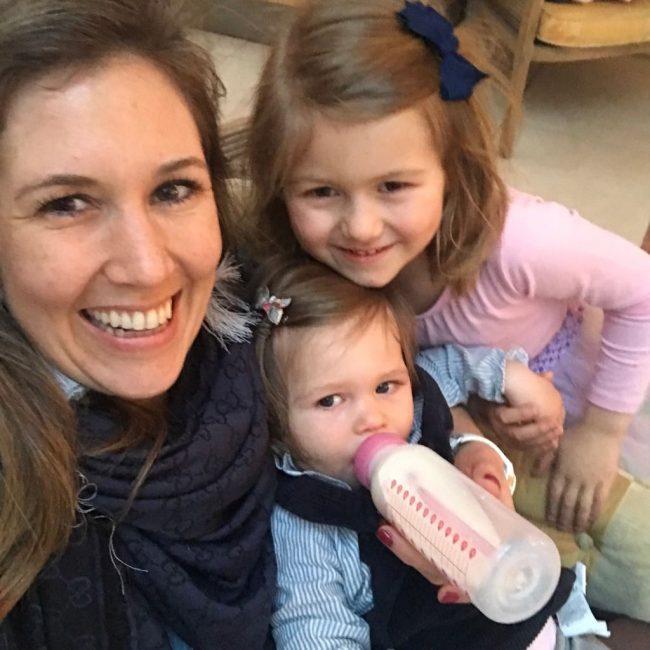 Alweer 5 jaar moeder zusjes samen Lilou Maxime