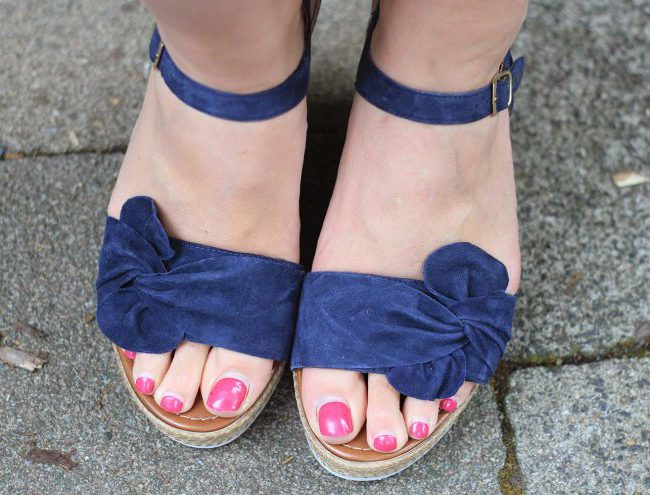 What we wear Scapino sleehak sandalen