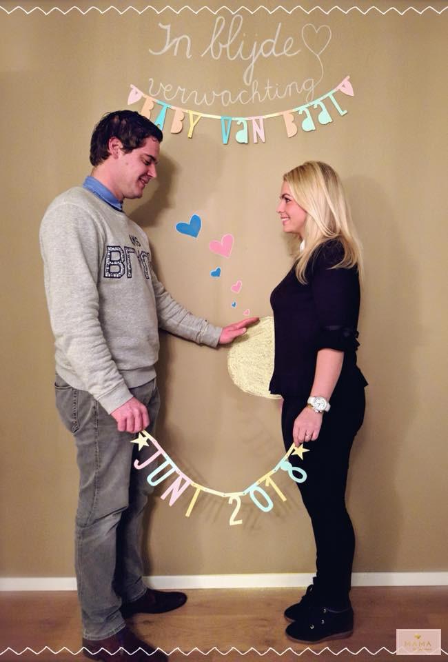 Zwangerschapsaankondiging, zwanger, aankondiging, uitgerekende datum, MAMA to the max,
