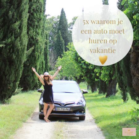 5x waarom je een auto moet huren op vakantie, MAMA to the max, Sunny Cars