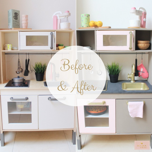 Diy De Make Over Van Het Ikea Keukentje Mama To The Maxmama To