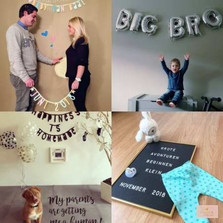 Zwangerschapsaankondiging, zwanger, originele aankondiging zwangerschap, pregnancy reveal, MAMA to the max