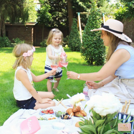 Picknick in eigen tuin, MAMA to the max, MyMypal