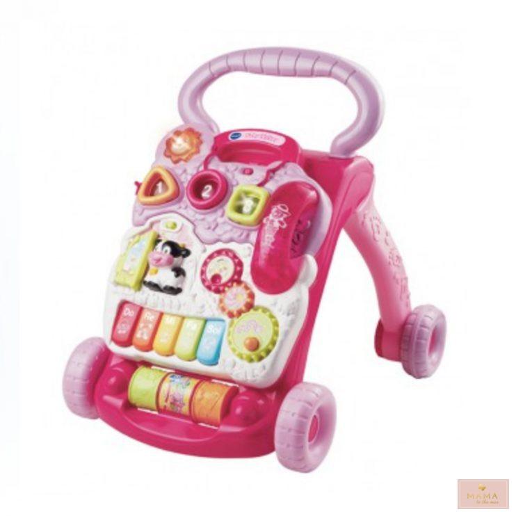 baby walker vtech roze review