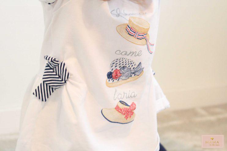 What We Wear Lilou, zomersetje, dreumes, lentesetje, jurkje, legging, mayoral, kleertjes.com