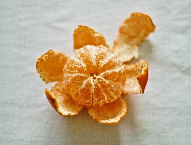 kindertraktatie, mandarijn met chocola