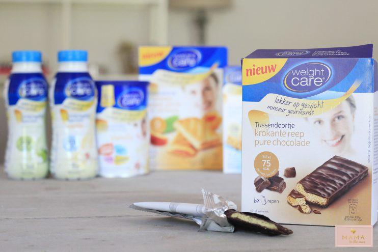 weight care tussendoortje krokante reep pure chocolade